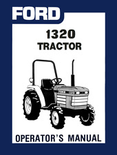 Ford 1320 Tractor Operators Manual