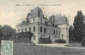 Cusy-the-Castle-La-Terrace-and-the-Big-Facade-Ancy-Le-Franc-Yonne