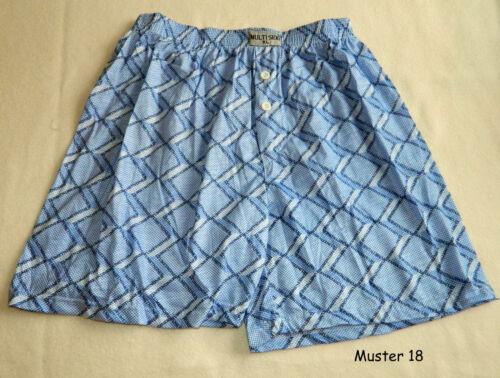 L  XL  2XL Boxershorts mit Eingriff Übergrösse Unterhosen Muster 18  Gr