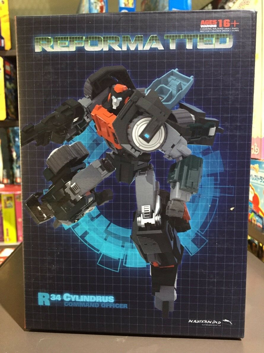 『W。H』MISB 89105 MMC Transformers Mastermind Creations Reformatted R-34 Cylindrus