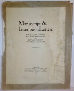 Manuscript-amp-Inscription-Letters-Schools-Classes-Craftsmen-Edward-Johnston-1946