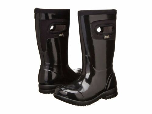 Bogs Kids Girls Tacoma Rain Winter Boots NEW Size 10 11 12 13 1 2 3 6 Black