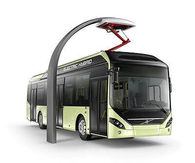 NEW ! HO 1:87 Motorart VOLVO 7900 ELECTRIC HYBRID Model Bus 300059 >>> SEE NOTE