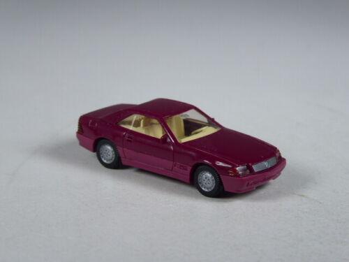 Wiking colección mercedes 500 sl Coupe violeta Clase