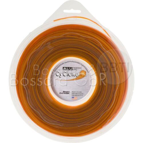 Alu Line orange 2,4 mm x 90 m stern Mähfaden Trimmerfaden Nylonfaden Profi-Cut