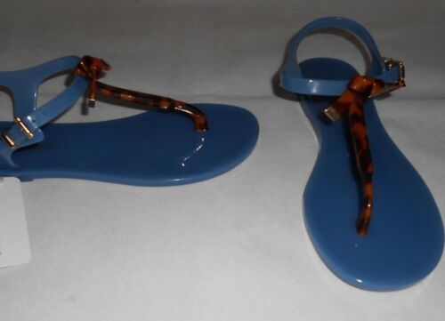 Logo Emporio Jelly Eu41 Sandals Armani Bow Uk7 New Blue w6qRdtBxtz
