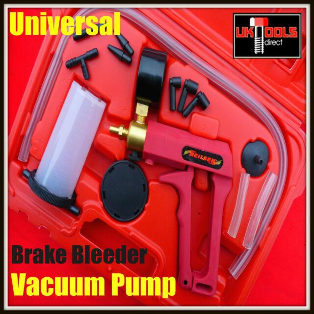 Juego de frenos Sangrador Tester Set Bleed Hand Held Vacuum Pump Autos y Moto