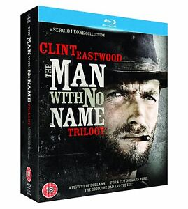 Clint Eastwood - The Man with No Name Trilogy (Blu-ray, 3 Discs) *NEW*
