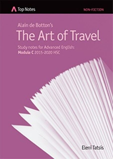 HSC English Top Notes study guide The Art of Travel