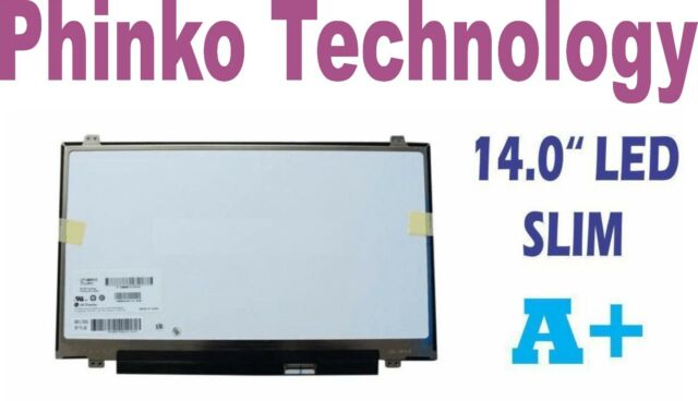 14.0 LED LCD Slim Screen LTN140AT08 LTN140AT12 LP140WH2 TL L2 B140XW03 V.0