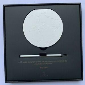 NEW-RARE-Omega-Notepad-and-Pencil-set-Moon-landing-Speedmaster-Apollo-11