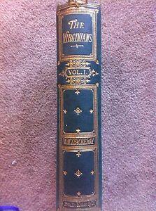 The-Virginians-Thackeray-Vol-1869