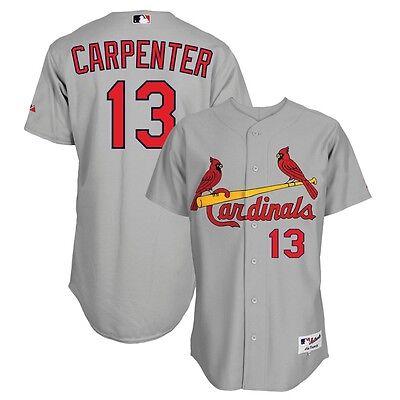 Matt Carpenter St Louis Cardinals Youth 8-20 White Cool Base Home Replica Jersey