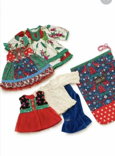 """Matilda Jane Doll Clothes Cozy Town All Dressed Up Wardrobe Fits 18"""" Bag LOT New"""