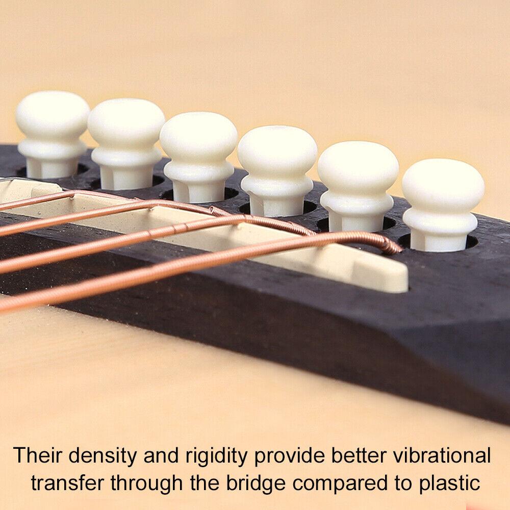 Gibson capotasto in vero osso lavorato per chitarra spedizione veloce 72 ore