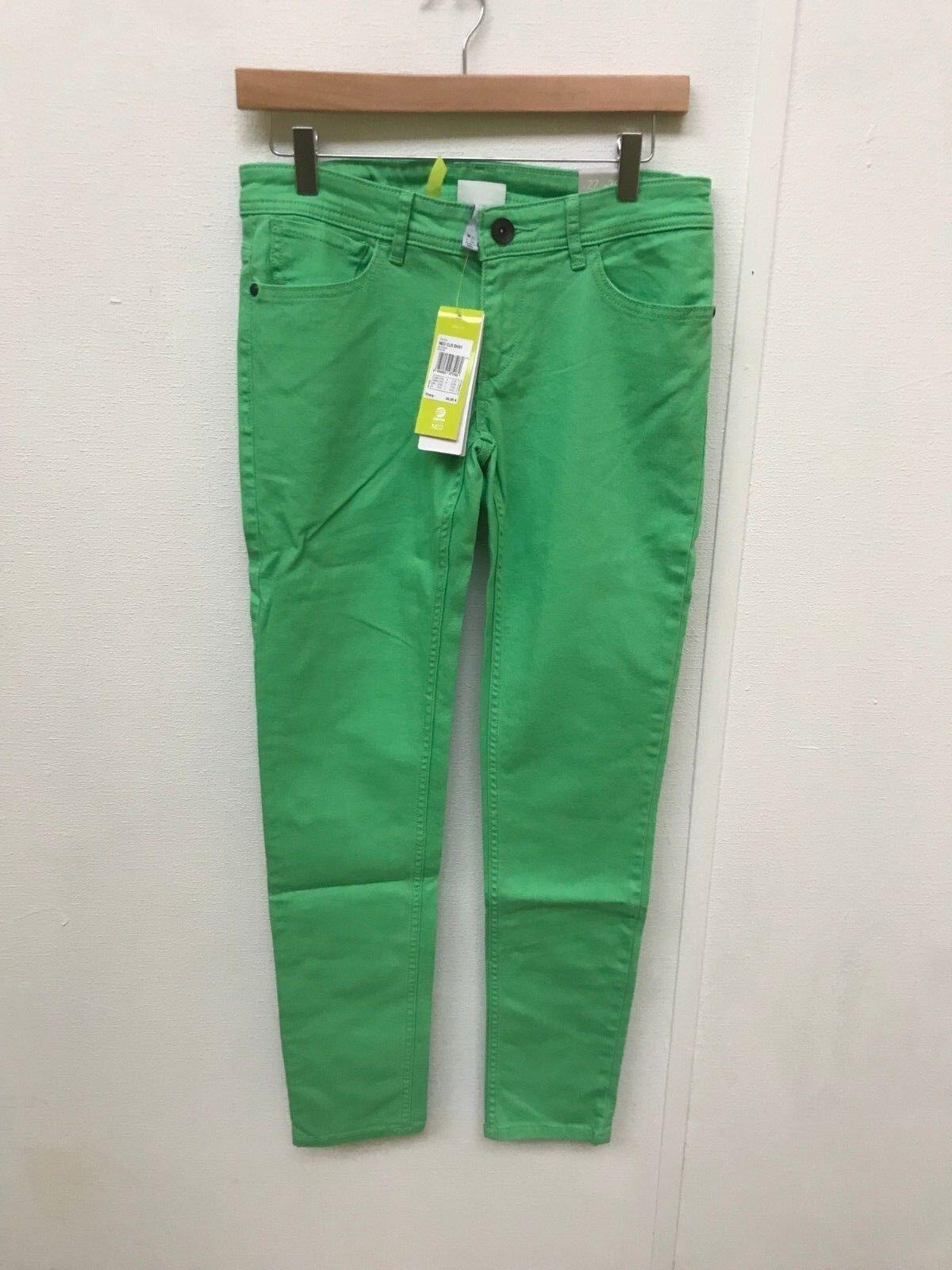 adidas NEO női színes, nadrágos farmer - W30 L34 - zöld - új