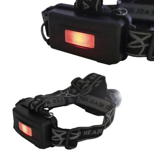 Portable Head Torch LED Rechargeable Headlamp Headlight 800 Lumen Super Bright