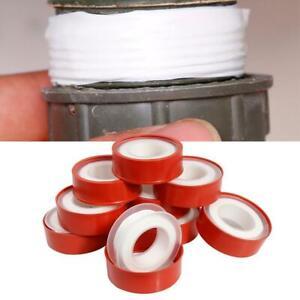 1-5-10roll-Sanitaerarmatur-Gewindedichtband-PTFE-Wasserrohr-Klempner-Reparatur