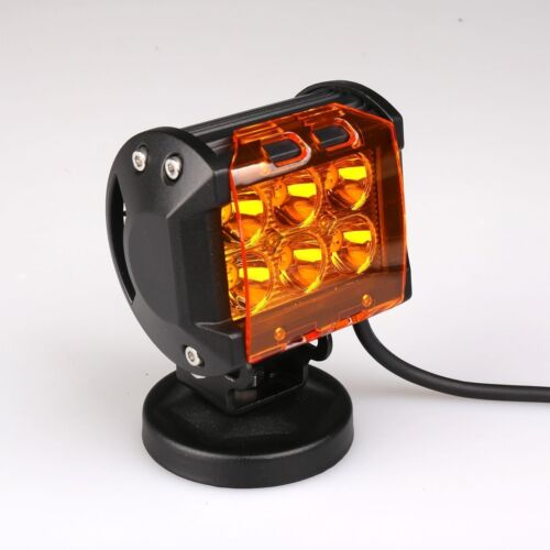 10x Amber Cover for 4/'/' 18W 36W LED Work Light Bar Fog Off-Road SUV Pods