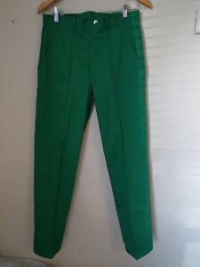New Men/'s cargo combat work trousers green camouflage size W32 L31 **READ DESC**