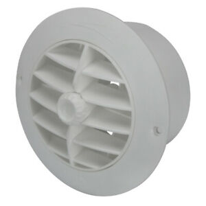 Air Vent, Round Caravan or Boat Vent To Suit 100mm