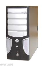 ATX Black Midi Tower chassis / case. No PSU. WT-GD07. KM4021B