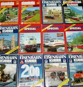 17x-Eisenbahn-Kurier-Modell-Vorbild-Sammlung-Zeitschrift-Modellbau-Special-Hefte