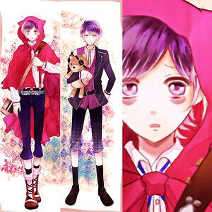 Image Is Loading Anime DIABOLIK LOVERS Sakamaki Kanato Dakimakura Pillow Cover