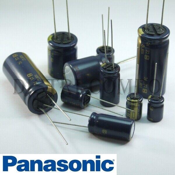 Condensateur 2700µF 6V3 électrolytique 20x10mm RM5 105° Samwha lot de 20