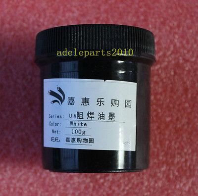 PCB UV Curable Solder Mask Repairing Paint White 100g New