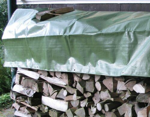 Noor Holzabdeckplane 1,5x6m Plane Abdeckplane Holz Kaminholz Abdecken Brennholz