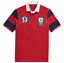 Mens-Polo-Ralph-Lauren-Classic-Fit-Mesh-Rugby-Patchwork-Shirt-Red-Sizes-L-XL thumbnail 1