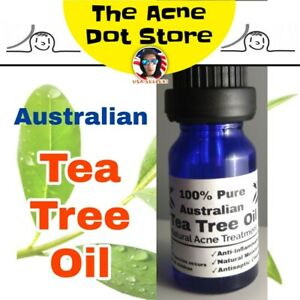 Tea Tree Oil Effective Cystic Acne Treatment Natural Essential