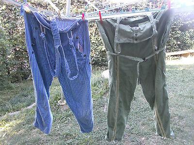 Dedito Originale Barbone Pantaloni Obelix Pantaloni Con Spalline 1983 Italia Daily Blue Swinger-mostra Il Titolo Originale