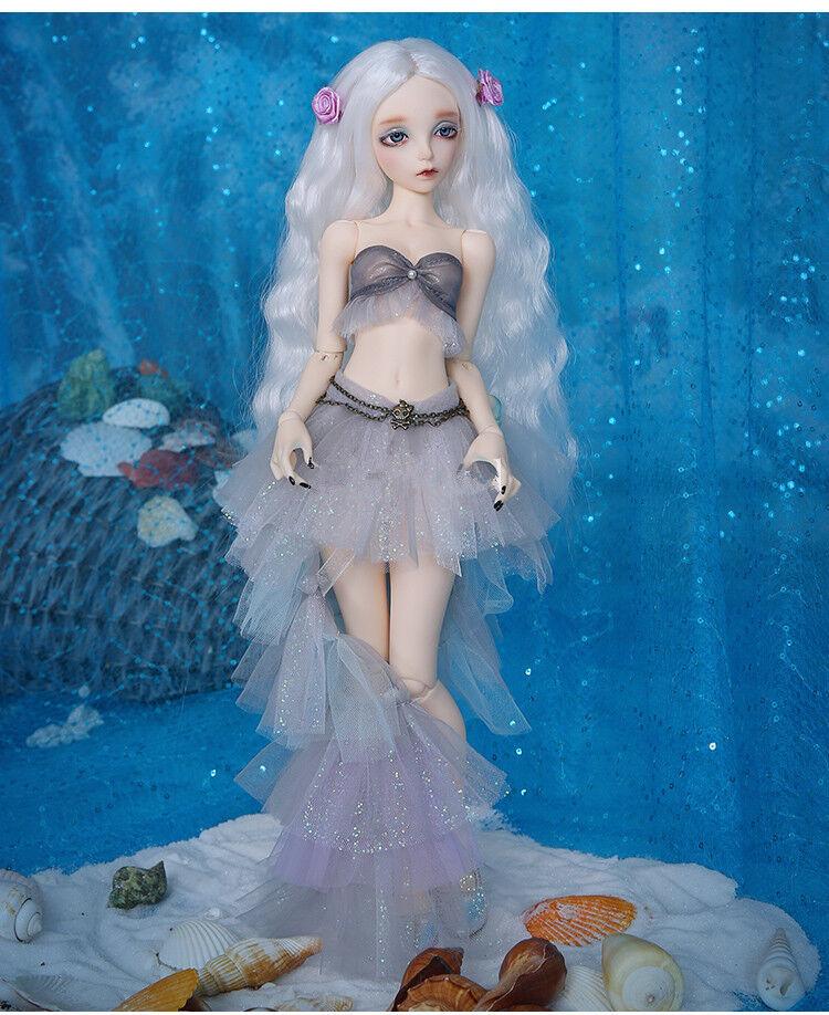 1 4 muñeca de BJD SD muñeca FL-SIA Caballito de mar libre frente + Gratis Ojos-versión humana
