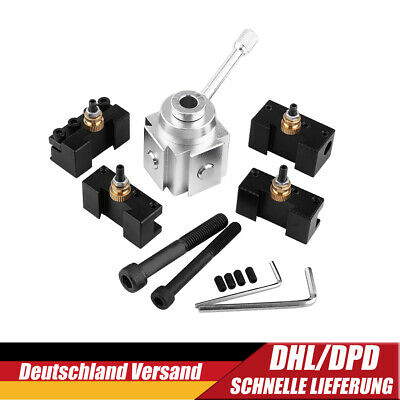 Profi Schnellwechsel Stahlhalter Drehstahlhalter Multifix Werkzeug für Drehbank