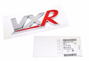 ORIGINAL-GM-OPEL-VAUXHALL-RACING-VXR-Schriftzug-Emblem-Aufkleber-Logo-5177439