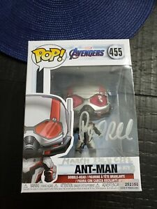 Funko Pop #455 Ant Man Signed By Paul Rudd