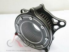 """AIR CLEANER INTAKE FILTER SYSTEM 4 HARLEY DYNA SOFTAIL 99- UP 5"""" K&N"""