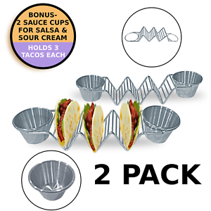 Stand-Up-Taco-Holder-Stainless-Steel-Rack-for-Tacos-or-Tortillas-2-Sauce-Cups