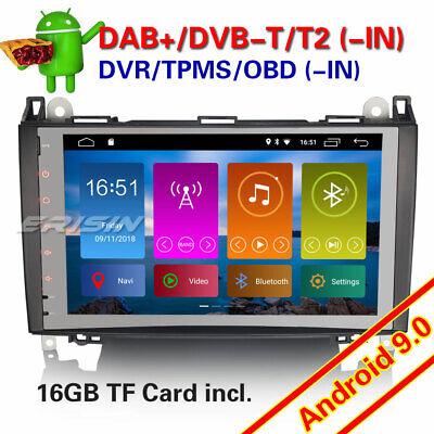 "9/""DAB+Autoradio android 8.1 Mercedes Class A//B W169 W245 Sprinter Viano Vito GPS"