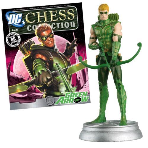 choisir dans la liste Eaglemoss DC Chess Collection magazine /& Figure Set 2