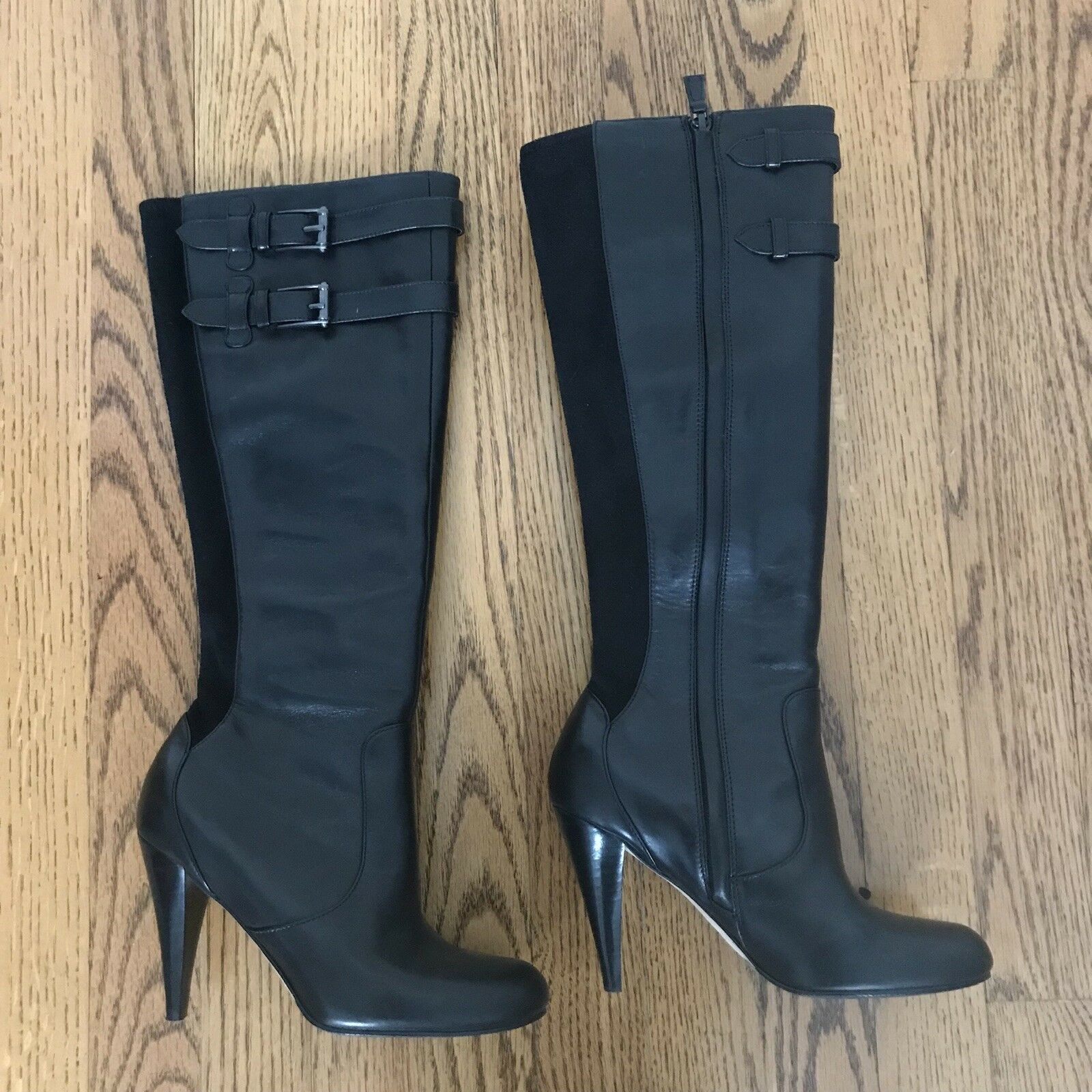 Cole Haan Jalisa Tall noir Leather bottes femmes's 5.5B EUC
