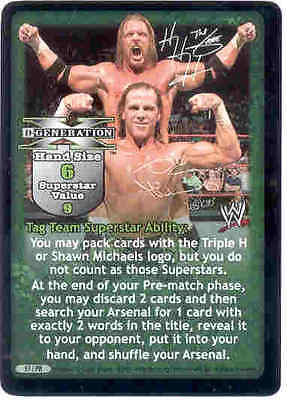 WWE RAW Deal Vengeance Evolution Superstar Face Promo Card