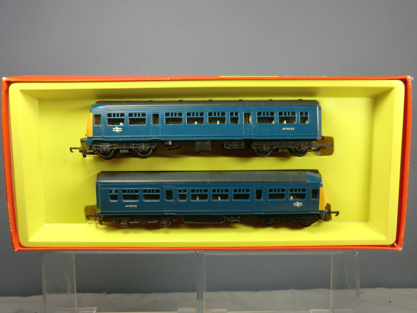 HORNBY RAILWAY MODEL No. R.157C BR CLASS LOCAL PASSENGER SET    MIB
