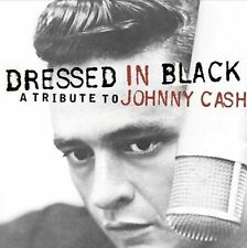 VARIOUS ARTISTS  Dressed in Black - A Tribute to Johnny Cash CD ALBUM  NEW