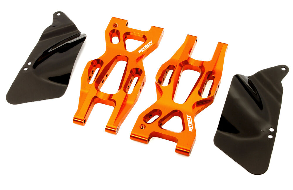 T8697orange Alloy Rear Lower Suspension Arm for HPI 1 10 Bullet MT & Bullet ST
