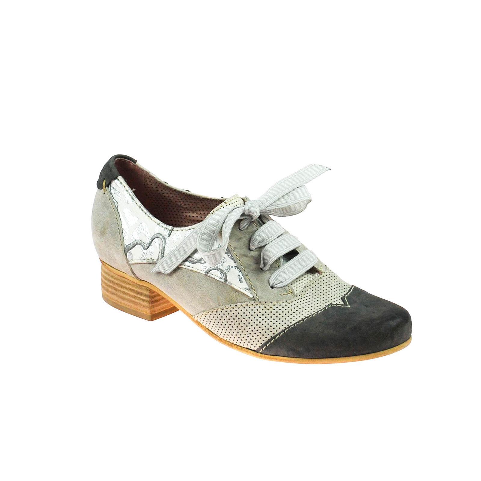 basta comprarlo Fascino DONNA mezza scarpa aperta pelle grigio bianco argento grigio grigio grigio scuro Multicolore  acquista la qualità autentica al 100%