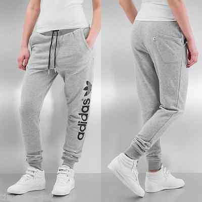 Dramaturgo Amabilidad Cordelia  Adidas Originals Baggy Track Sweat Pants Size S Relaxed Fit Grey Heather  AJ7660 | eBay