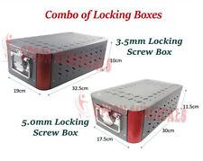 Orthopedic Empty Case Combo Of 35mm And 50mm Locking Screw Case Box Sterilize